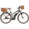 KlickFix Radkiste 1 Holz Fahrradkorb Lenker natura